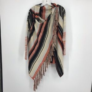 Very Pretty Acrylic Shawl with Sleeves. Size Small